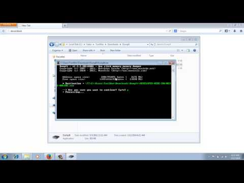 How to Use DumpIt for Dump Memory of Windows