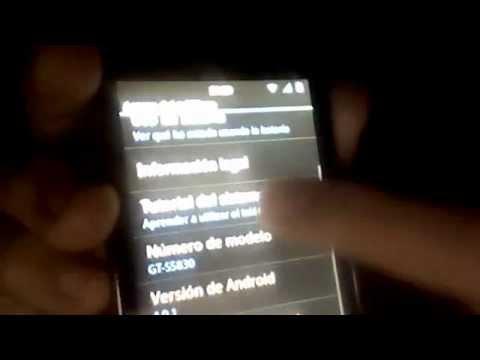 Samsung Galaxy Ace - Android 4.0.1 Ice cream Sandwich