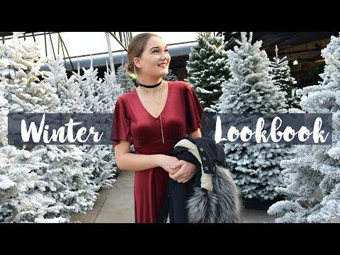 Winter Lookbook 2017! Holiday Outfit Ideas