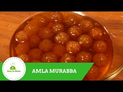 How to make Amla murabba / Gooseberry murabba