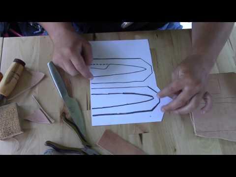 Simple Knife Sheath Part 1