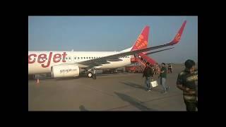 Spectacular flight over India, from Kolkata to Surat