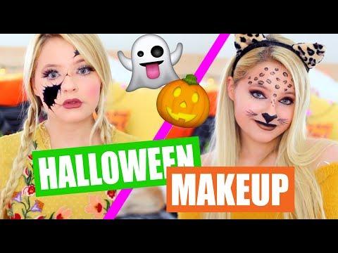 DIY Halloween Costumes Using Makeup!