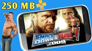 150MB] WWE Smackdown Vs Raw 2009 Highly Compressed PPSSPP