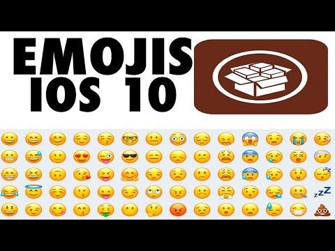 Emojis de IOS 10 en IOS 9.3.3