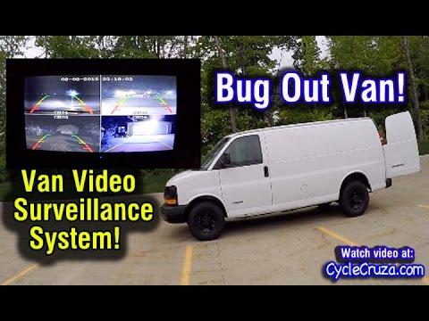 Bug Out Camper Van Video Camera Surveillance System | Bug Out Van Build Series