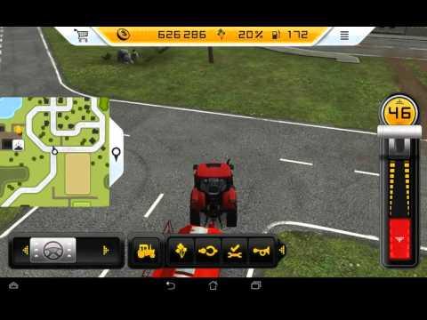 Farming Simulator 14 серия 25 сеим поля и косим