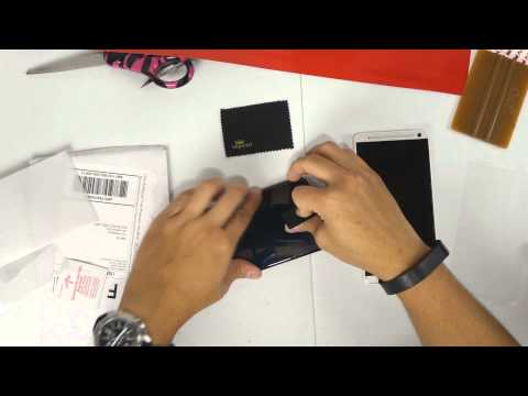 Nexus 6 Glass Screen Protector Installation