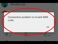 Fix Connection problem or invalid MMI code Error in Android|Tablet