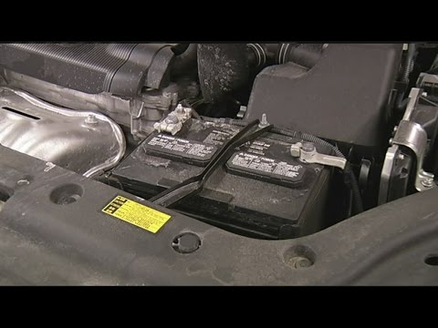 Cold weather affecting car batteries