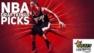 3/15/18 NBA DRAFTKINGS PICKS