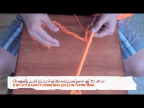 How To Make An Artificial Ilima Lei Out of Yarn