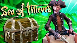The SECRET SHIPWRECK HUNT for SUNKEN GOLD! - Sea of Thieves Gameplay - Sea of Thieves Closed Beta