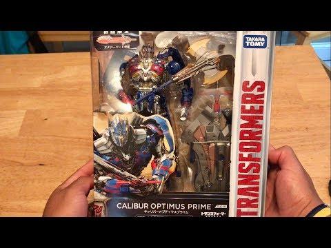 Takara Tomy TLK-15 Calibur Optimus Prime UNBOXING