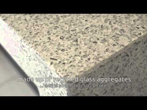 Botolstone - Recycled Glass Concrete Countertop