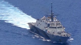 Chinese Frigate Stalking U.S. Navy Warship in South China Sea