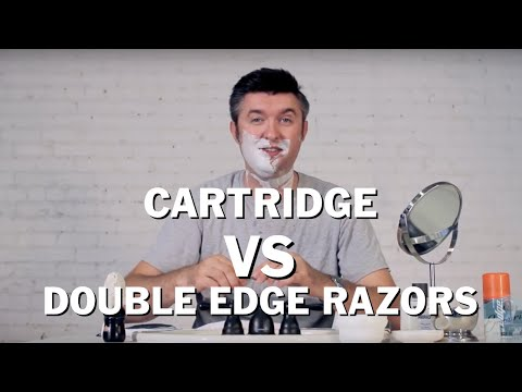 Disposable Cartridge Shave Vs. Double Edge Safety Razor Review