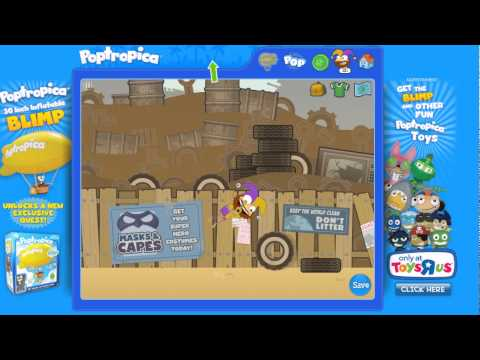 Poptropica SuperPower Island Crusher