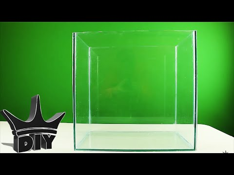 HOW TO: Build an aquarium (GLASS TUTORIAL)