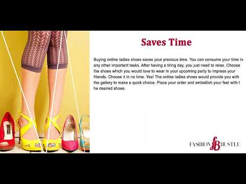 Online Ladies Shoes – A luxurious way of shopping which one must try