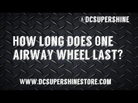 DIY How long does One Airway wheel last when polishing aluminum?