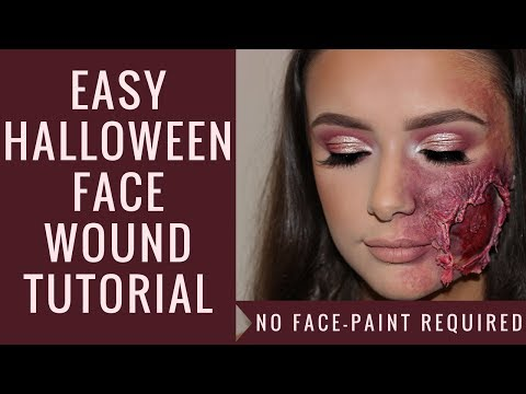 HALLOWEEN TUTORIAL   HOW TO CREATE A FAKE WOUND