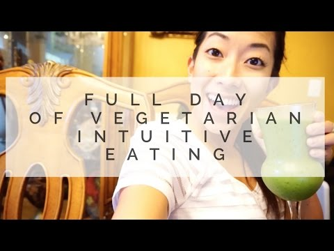 Full Day of Vegetarian Eating | Bunion Surgery Recovery