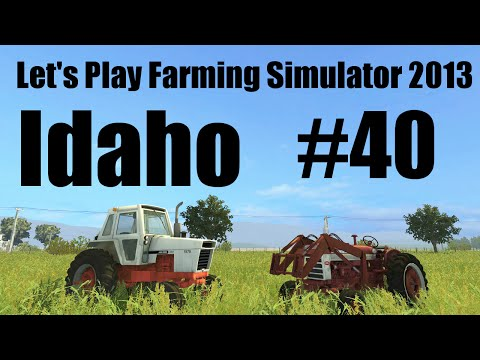 Farming Simulator 2013 S8E40 baling hay