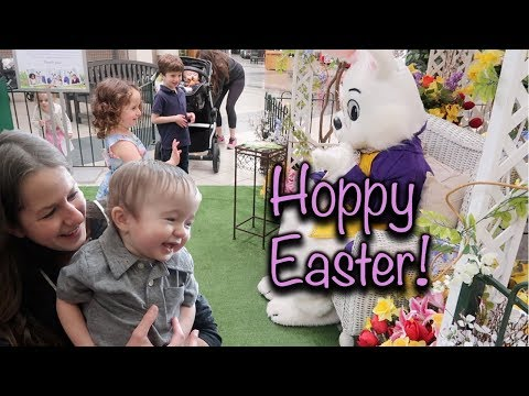 ANNUAL EASTER BUNNY VISIT!