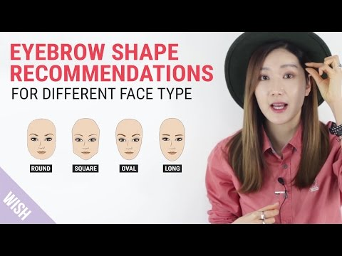 Perfect Eyebrow Shapes for Your Face | Wishtrend