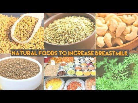 Breast feeding | How To Increase Breast milk | Natural Foods To Increase Breast milk | Mumsworld