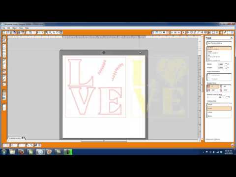 How to Design with TRW 300 Rhinstone TTF in Silhouette Designer Edition Software