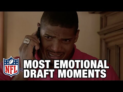 Most Emotional NFL Draft Moments | NFL