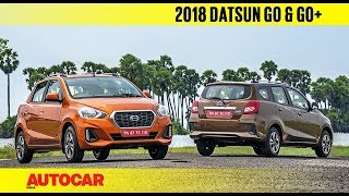 2018 Datsun Go & Go+ facelift   First Drive Review   Autocar India