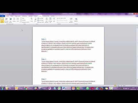 #431 Move content easily in your Word document using the Navigation Pane
