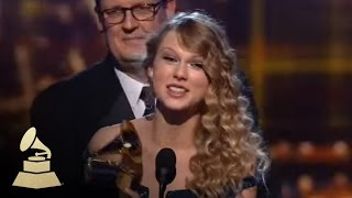 Download Taylor Swift accepting the GRAMMY for Album of the Year at the 52nd GRAMMY Awards | GRAMMYs Video
