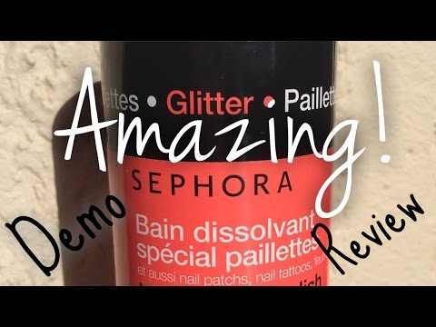 Sephora Instant Nail Polish Remover Demo & Review | Nail Polish Pursuit