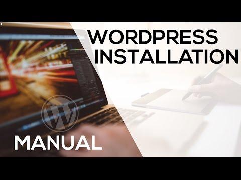 Manual WordPress Intsallation