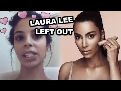 LAURA LEE UNINVITED TO KKW MAKEUP LAUNCH (EVIDENCE + RECEIPTS).