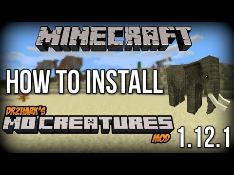 How To INSTALL Mo' Creatures Mod (With Forge)! [Minecraft 1.12.1+]