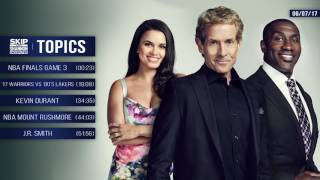 UNDISPUTED Audio Podcast (6.7.17) with Skip Bayless, Shannon Sharpe, Joy Taylor | UNDISPUTED