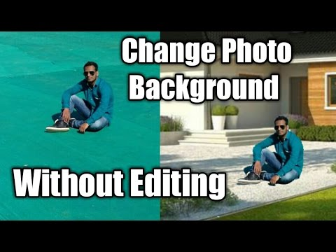 How to remove green background from photo like croma key