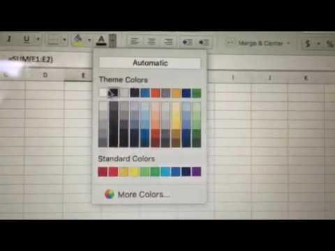 Excel for Mac Calculation Error