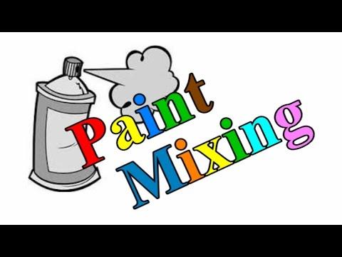 Spray Can Paint Mixer