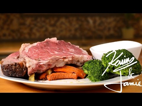 Kevin Makes Prime Rib Roast with Au Jus