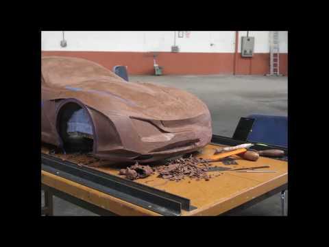 Automotive Design Clay Modelling