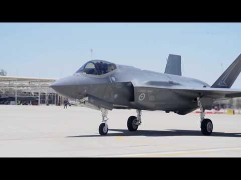 Royal Australian Air Force F 35A achieves 1000th sortie