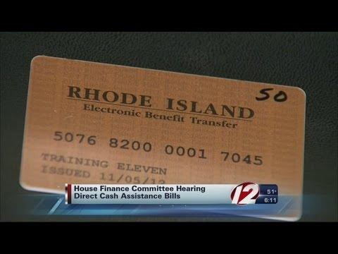 House Hearing Pair of EBT Card Bills