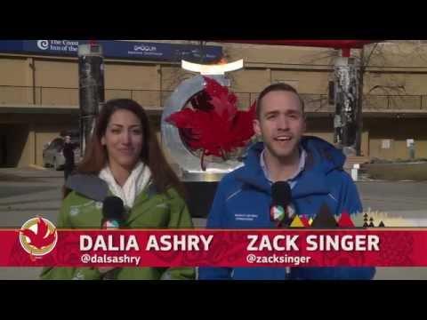 Jeux du Canada TV Aujourd'hui - Calendrier des Jeux 22 Février