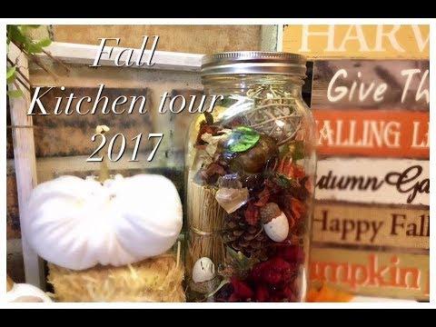 Fall Kitchen Tour | 2017